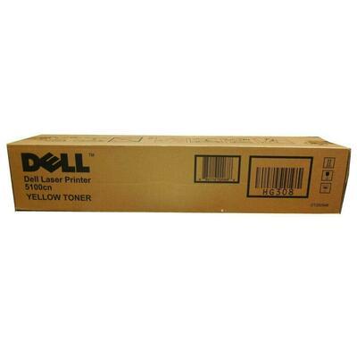DELL - Dell 5100cn (CT200546) Sarı Orjinal Toner Yüksek Kapasite