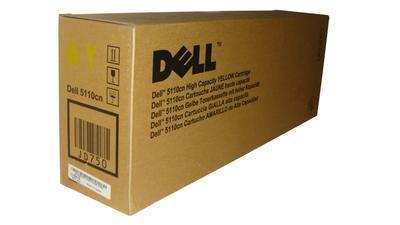 DELL - Dell 5110cn (CT200843) Sarı Orjinal Toner 18,000 Sayfa