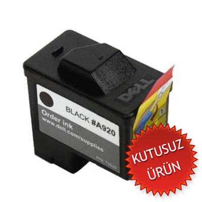 DELL - DELL T0529 SİYAH ORJİNAL KARTUŞ - DELL 720 / 920 / A720 / A920 (U)