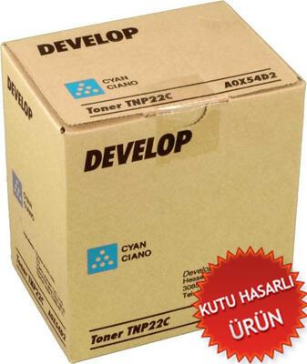 DEVELOP - Develop TNP22C Ineo 35 Mavi Orjinal Toner A0X54D2 (C)