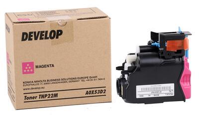 DEVELOP - Develop TNP22M Ineo 35 Kırmızı Orjinal Toner - A0X53D2