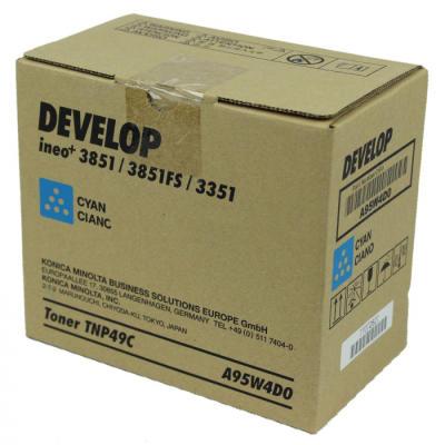DEVELOP - DEVELOP TNP49C MAVİ ORJİNAL TONER Ineo +3851, +3851FS, +3351 (A95W4D0)