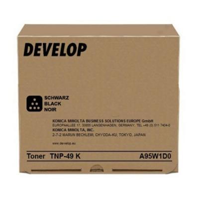 DEVELOP - DEVELOP TNP49K SİYAH ORJİNAL TONER Ineo +3851, +3851FS, +3351 (A95W1D0)