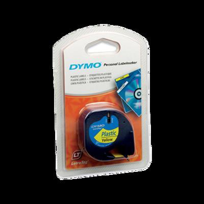 DYMO - Dymo 91202 Sarı Orjinal Şerit 12mm x 4m