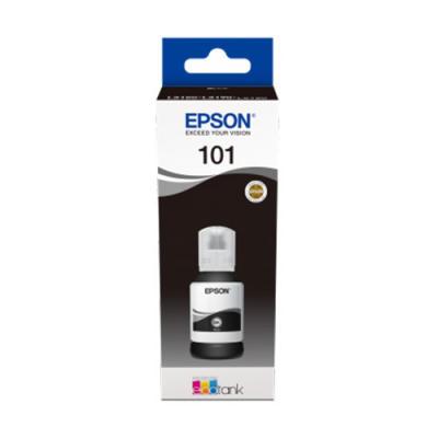 EPSON - Epson 101 T03V14A Siyah Orjinal Mürekkep Kartuş EcoTank L4150, L4160, L6170, L6190 7,500 Sayfa