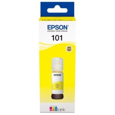 EPSON - Epson 101 T03V44A Sarı Orjinal Mürekkep Kartuş EcoTank L4150, L4160, L6170, L6190 6,000 Sayfa