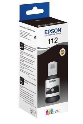 EPSON - Epson 112 C13T06C14A Siyah Orjinal Mürekkep Kartuş - L15160 / L15150