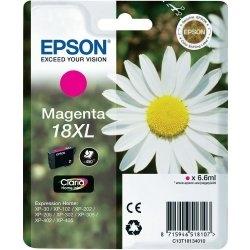 EPSON - Epson 18XL T18134020 Kırmızı Orjinal - XP-202 / XP-205