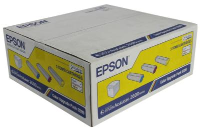 EPSON - EPSON 2600 SERİSİ S050289 3 RENK EKONOMİK ORJİNAL TONER-C/M/Y