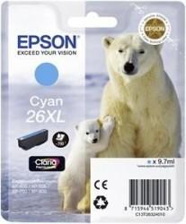 EPSON - Epson 26XL T263240 Mavi Orjinal Kartuş - XP-600 / XP-700