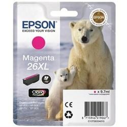 EPSON - Epson 26XL T263340 Kırmızı Orjinal Kartuş - XP-600 / XP-700