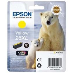 EPSON - Epson 26XL T263440 Sarı Orjinal Kartuş - XP-600 / XP-700