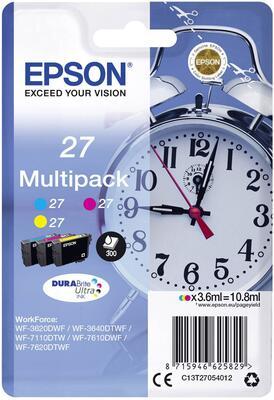 EPSON - Epson 27 T2705 Mulipack Orjinal Kartuş - WF-3620 / WF-7110