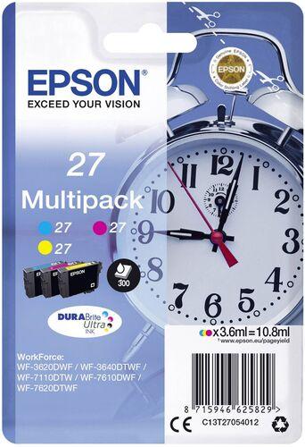 Epson 27 T2705 Mulipack Orjinal Kartuş - WF-3620 / WF-7110