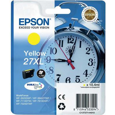 EPSON - Epson 27XL T2714 Sarı Orjinal Kartuş - WF-3620 / WF-7110