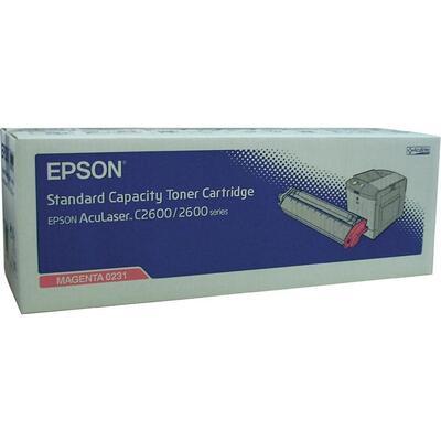 EPSON - Epson C13S050231 Kırmızı Orjinal Toner - C2600