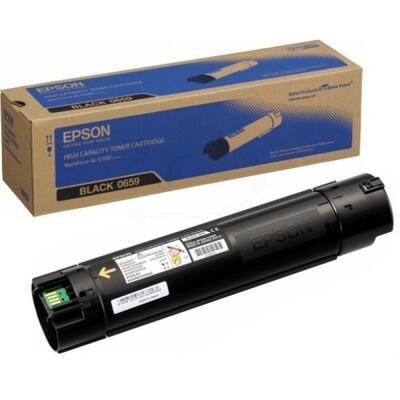 EPSON - Epson C13S050659 Siyah Orjinal Toner Yüksek Kapasiteli - AL-C500Dhn / AL-C500Dtn