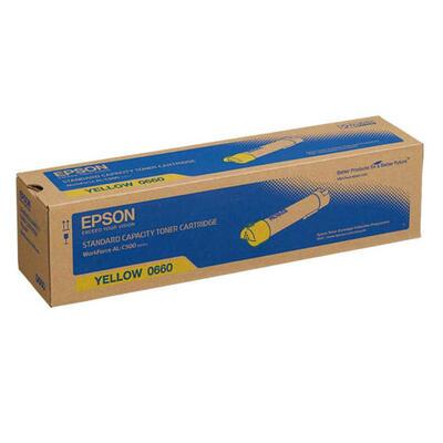 EPSON - Epson C13S050660 Sarı Orjinal Toner - AL-C500Dhn / AL-C500Dtn
