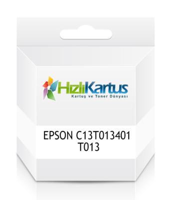 EPSON - EPSON C13T013401 T013 Siyah Muadil Kartuş