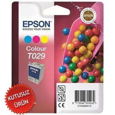 EPSON - Epson C13T02940120 T029 Renkli Orjinal Kartuş (U)