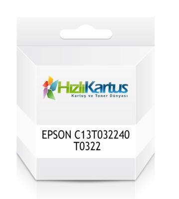 EPSON - Epson C13T032240 T0322 Mavi Muadil Kartuş