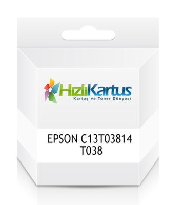 EPSON - Epson C13T03814 T038 Muadil Kartuş - C43UX / C45