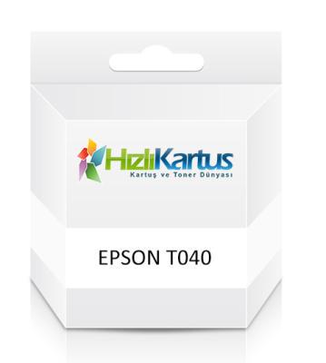 EPSON - Epson C13T04014020 T040 Siyah Muadil Kartuş