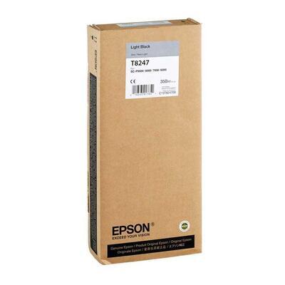 EPSON - Epson T8247 (C13T824700) Açık Siyah Orjinal Kartuş - SureColor SC-P6000STD