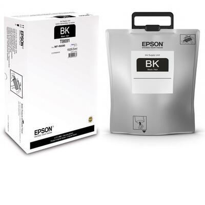 EPSON - Epson C13T869140 Siyah Orjinal Mürekkep Workforce Pro WF-R8590