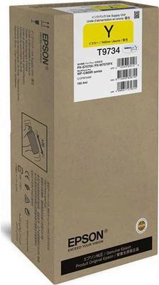 EPSON - Epson C13T973400 (T9734) XL Sarı Orjinal Kartuş WF-C869 Serisi