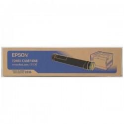EPSON - EPSON C9100 S050195 SARI ORJİNAL TONER