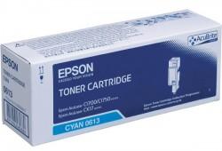 EPSON - EPSON CX17 / C1700 S050613 MAVİ ORJİNAL TONER