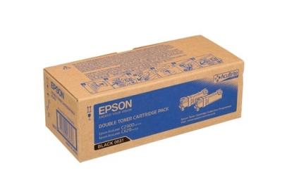 EPSON - EPSON CX29 / C2900 S050631 SİYAH ORJİNAL TONER 2li PAKET