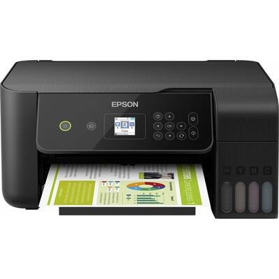 EPSON EcoTank L3160 Tanklı Yazıcı + Fotokopi + Tarayıcı + WiFi - Thumbnail