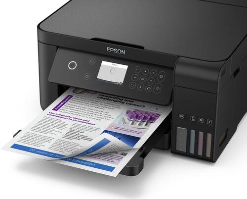 Epson EcoTank L6160 Fotokopi + Tarayıcı + Wi-Fi Mürekkep Tanklı Yazıcı (C13CG21402)