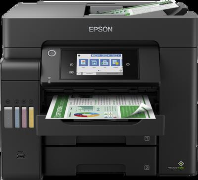 EPSON - Epson EcoTank L6550 Wi-Fi + Fotokopi + Tarayıcı + Faks Renkli Çok Fonksiyonlu Mürekkep Tanklı Yazıcı