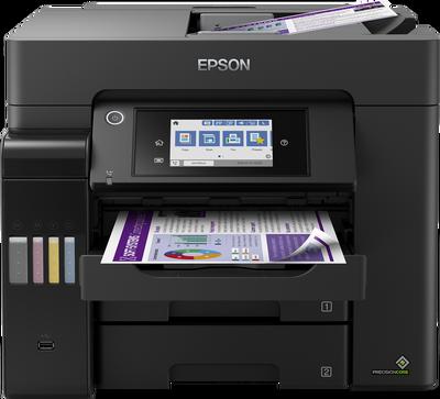 EPSON - Epson EcoTank L6570 Fotokopi + Tarayıcı + Faks Renkli Çok Fonksiyonlu Mürekkep Tanklı Yazıcı
