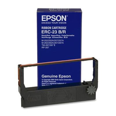EPSON - Epson ERC-23BR C43S015362 Orjinal Siyah-Kırmızı Şerit