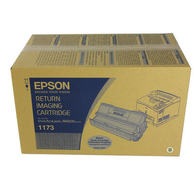 EPSON - Epson M4000 C13S051173 Siyah Orjinal Toner