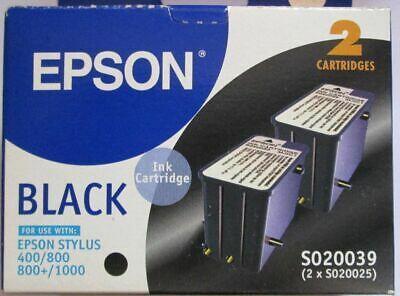 EPSON - Epson S020039/S020025 Siyah Orjinal Kartuş