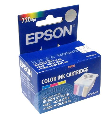 EPSON - Epson S020049 Renkli Orjinal Kartuş