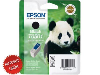 EPSON - EPSON S020093 T0501 SİYAH ORJİNAL KARTUŞ (U)