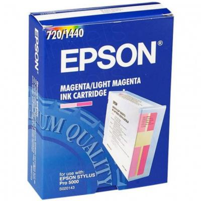 EPSON - Epson S020143 Light Magenta Orjinal Kartuş