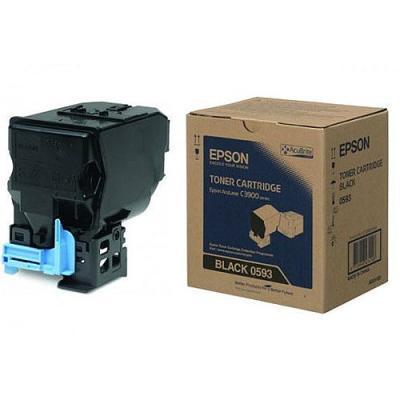 EPSON - Epson S050593 C3900, CX37 Siyah Orjinal Toner