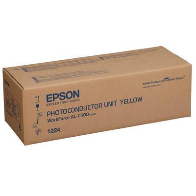 EPSON - Epson C13S051224 Sarı Orjinal Photoconductor Drum Ünitesi - AL-C500