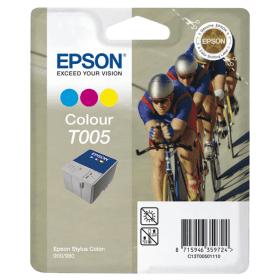 EPSON - EPSON T005 RENKLİ ORJİNAL KARTUŞ Photo 900 , Photo 980