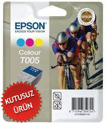 EPSON - EPSON T005 RENKLİ ORJİNAL KARTUŞ Photo 900 , Photo 980 (U)