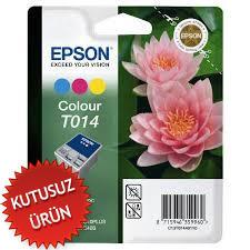 EPSON - Epson T014 C13T014401 Renkli Kartuş (U)