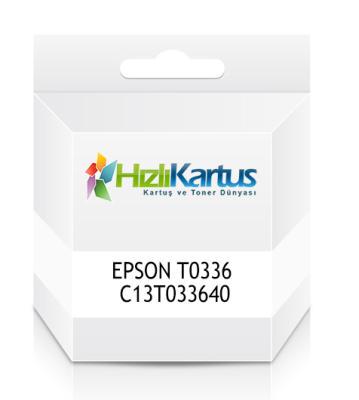EPSON - Epson T0336 C13T033640 Açık Kırmızı Muadil Kartuş