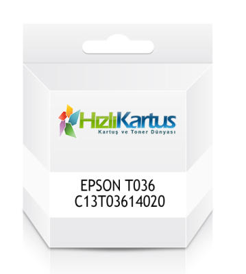 EPSON - Epson T036 C13T03614020 Siyah Muadil Kartuş